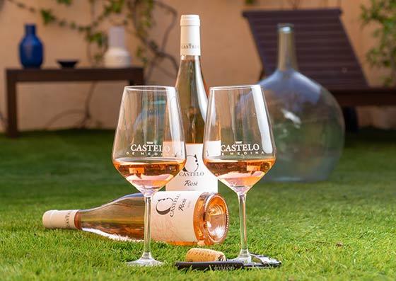 Tecnovino vinos jóvenes de Castelo de Medina Rosé
