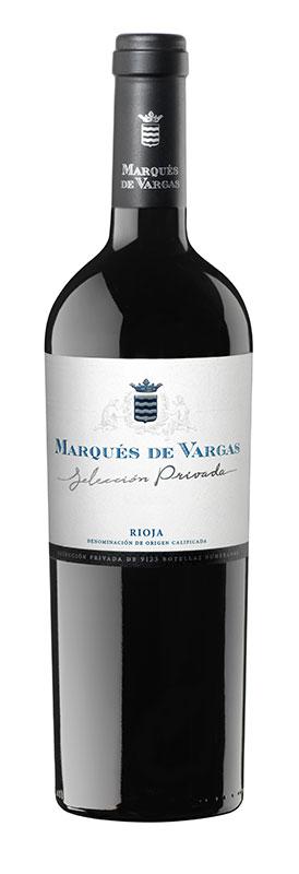 Tecnovino vinos para regalar Marqués de Vargas Selección Privada 2015
