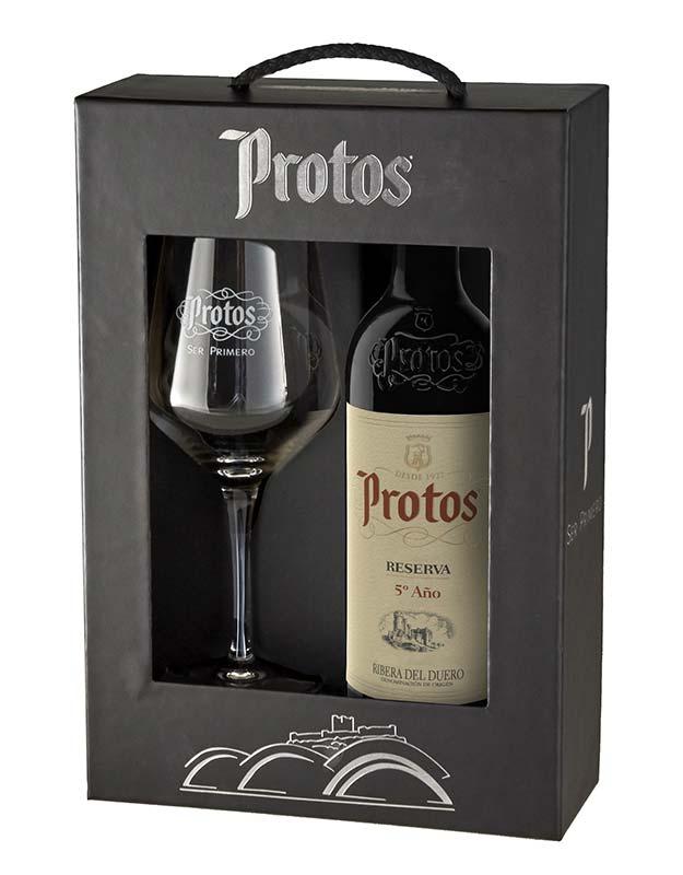 Tecnovino vinos para regalar Protos Reserva 5 año