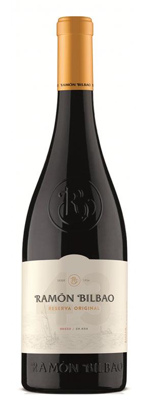Tecnovino vinos para regalar Ramón Bilbao Reserva Original