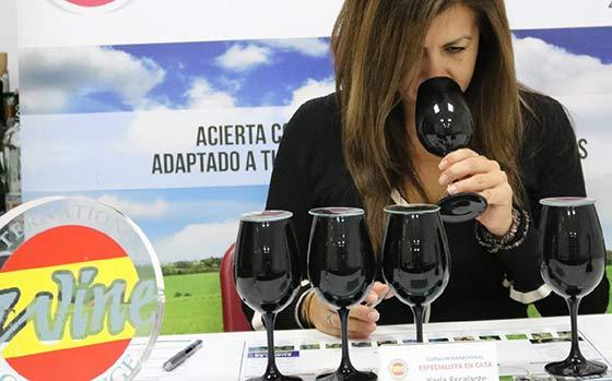 Tecnovino Escuela Espanola de Cata beca cata vinos 2