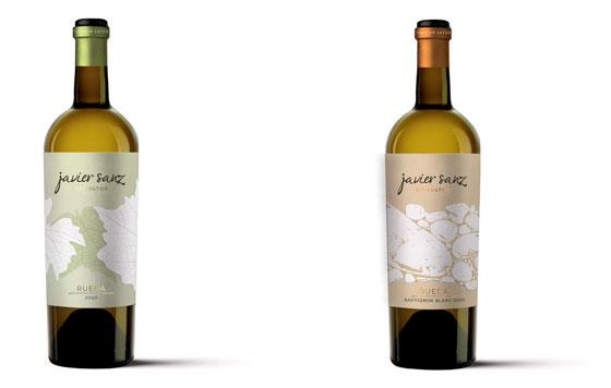 Tecnovino Javier Sanz Viticultor Verdejo vinos blancos detalle