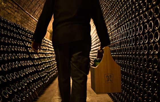 Tecnovino Recaredo botellas detalle