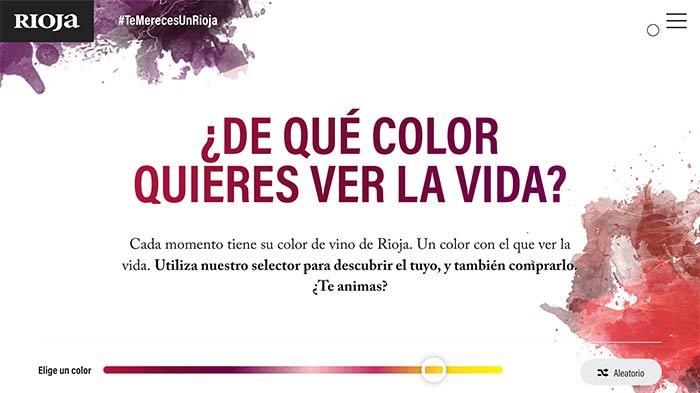 Tecnovino Te mereces un Rioja selector de color