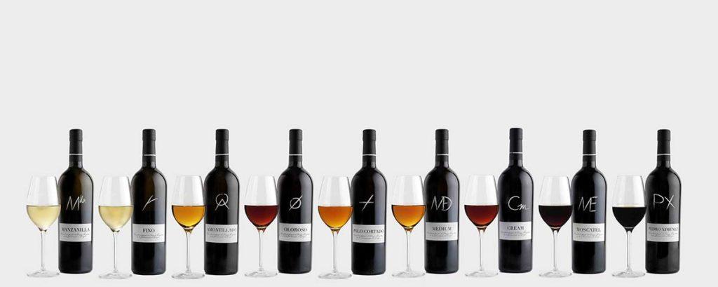 Tecnovino Vinos de Jerez tipos