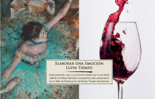 Tecnovino emocionarte Ribera del Duero y Thyssen