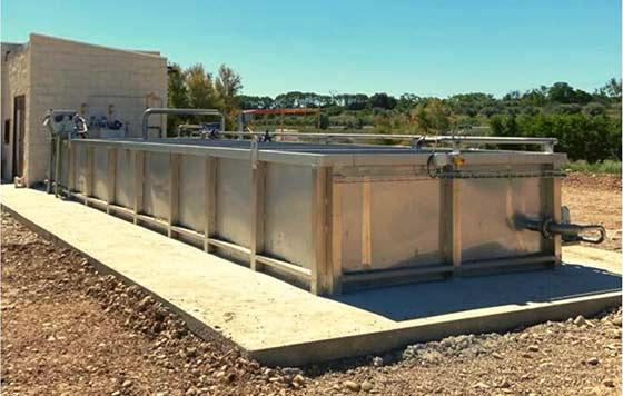 Tecnovino estación depuradora de aguas residuales Aema detalle
