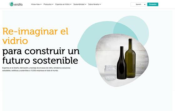 Tecnovino nueva web Verallia 2021 detalle