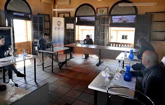 Tecnovino vinos blancos Condado de Huelva calificacion 2020