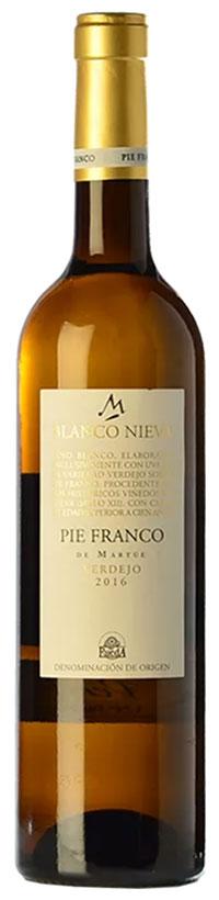 Tecnovino vinos de la España vaciada Vinissimus Blanco Nieva Pie Franco