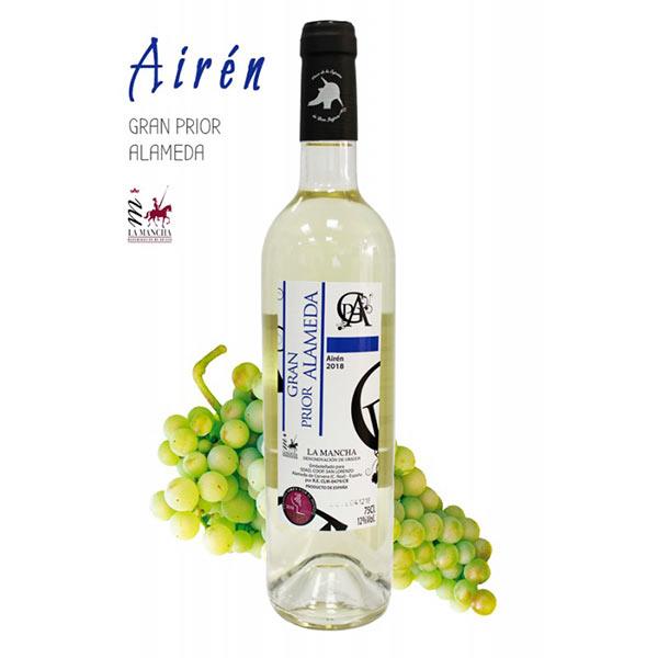 Tecnovino vinos de la variedad airén Gran Prior de Alameda