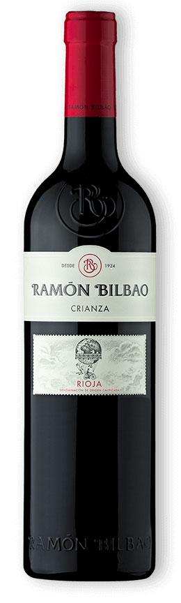 Tecnovino vinos más vendidos de Bodeboca Ramón Bilbao crianza