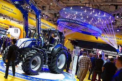 Tecnovino Agritechnica feria tractor