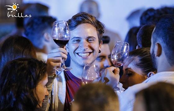 Tecnovino DOP Bullas vinos tintos jovenes detalle