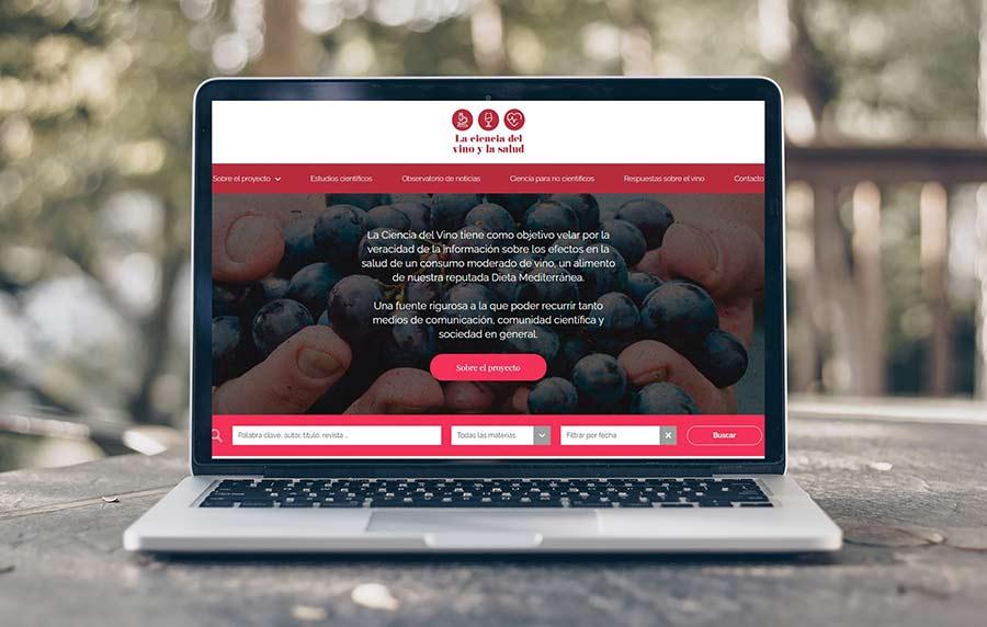 Tecnovino La Ciencia del Vino y la Salud plataforma OIVE