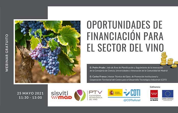 Tecnovino PTV Sisvitimad financiacion para el sector del vino detalle
