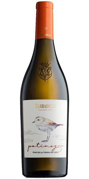 Tecnovino Patinegro vino ecologico Bodegas Barbadillo botella