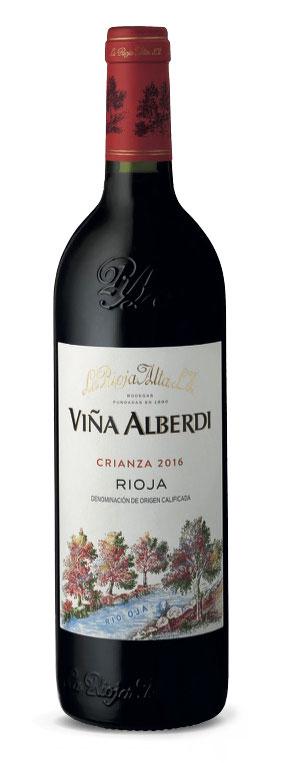 Tecnovino Vina Alberdi Crianza 2016 La Rioja Alta botella