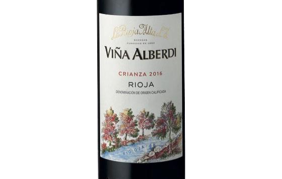 Tecnovino Vina Alberdi Crianza 2016 La Rioja Alta detalle