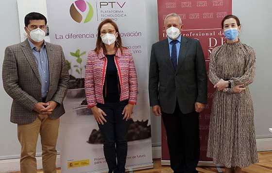 Tecnovino competitividad del sector vitivinícola equipo OIVE PTV