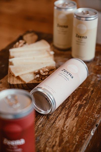 Tecnovino vino en lata Zeena colección