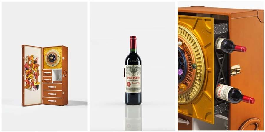 Tecnovino vinos a subasta Petrus espacio