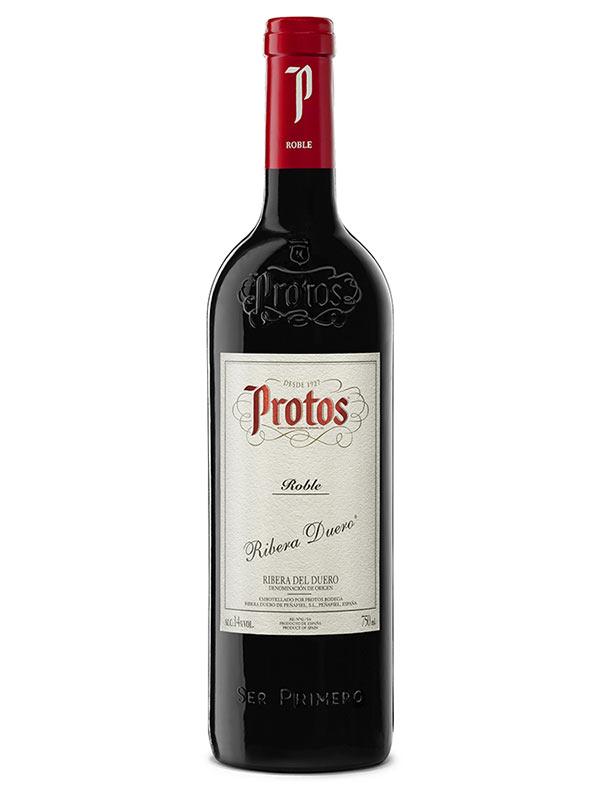 Tecnovino vinos jóvenes Bodegas Protos Roble