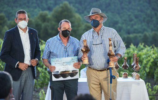 Tecnovino entrega de premios XIV certamen de calidad DOP Bullas