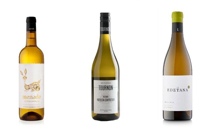 Tecnovino Primeras Marcas vinos blancos Menade Tournon Edetana