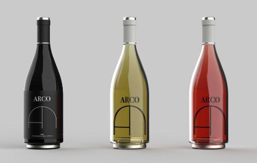 Tecnovino proyecto ARCO primer premio del VIII Concurso de Diseño Verallia diseños de botellas para vino