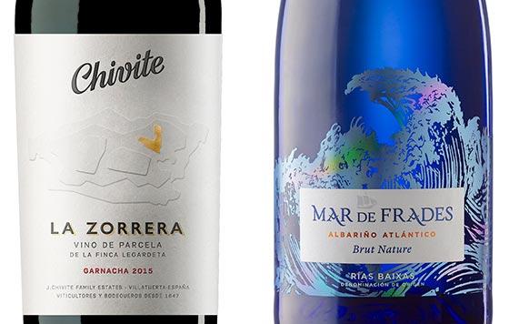 Tecnovino etiquetas de vino Argraf