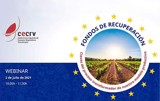 Tecnovino fondos de recuperacion seminario CECRV detalle
