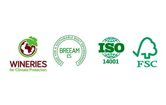 Tecnovino sellos medioambientales Zamora Company detalle