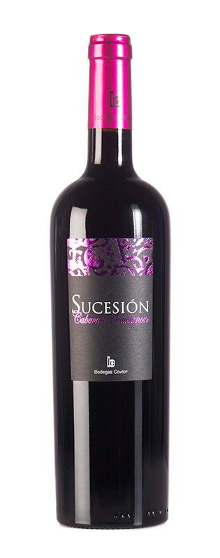 Tecnovino vinos de DO Utiel-Requena Sucesión Cabernet