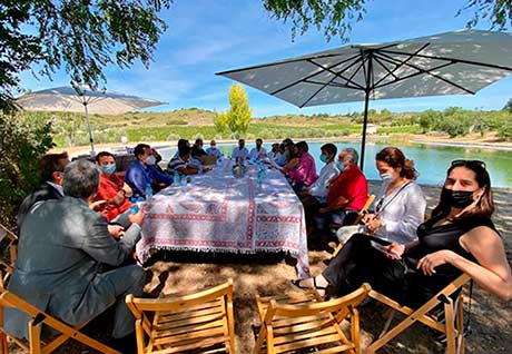Tecnovino DO Vinos de Madrid pleno Val Azul