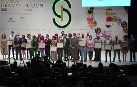 Tecnovino vinos de la DO La Mancha XXXII Premios Gran Seleccion