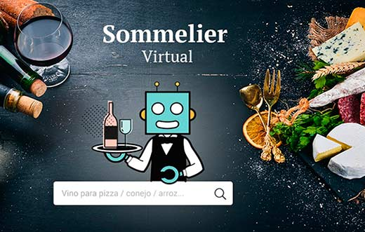 Tecnovino Sommelier Virtual Vinissimus