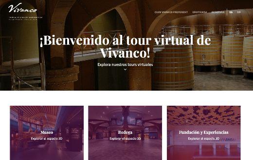 Tecnovino tour virtual Vivanco