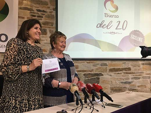 Tecnovino añada del Bierzo 2020 Misericordia Bello e Isabel Mijares
