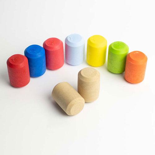 Tecnovino tapones para espumosos Serie C42 Excellent Cork colores 2