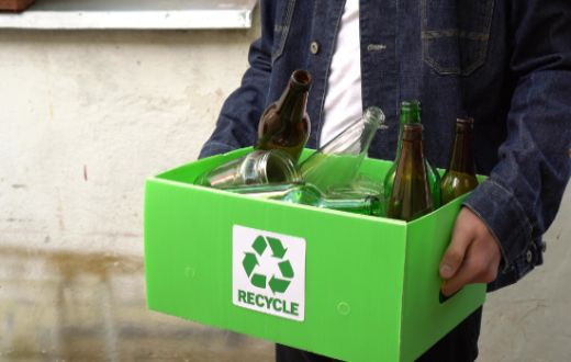 Tecnovino reciclado infinitivo de vidrio