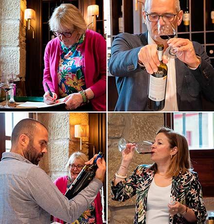 Tecnovino vinos de las bodegas de Grupo Rioja Masters of Wine