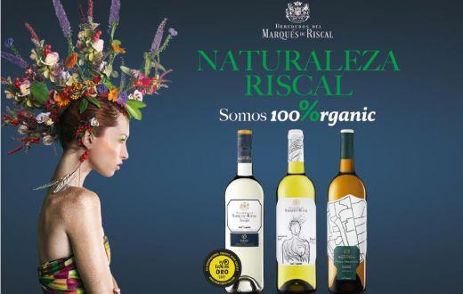 Tecnovino gama de vinos 100%organic de Marqués de Riscal