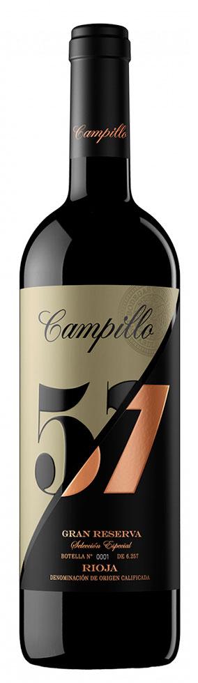 Tecnovino Mejor Vino 2021 Campillo 57 Gran Reserva Bodegas Campillo