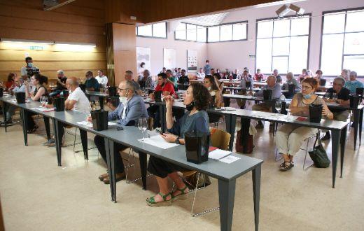 Tecnovino Jornada Vinos Old-Vidaos en las instalaciones de EVENA de Olite