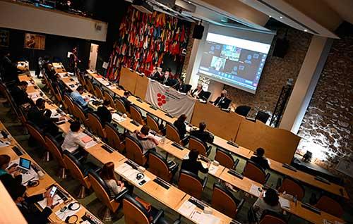 Tecnovino Organizacion Internacional de la Viña y el Vino asamblea