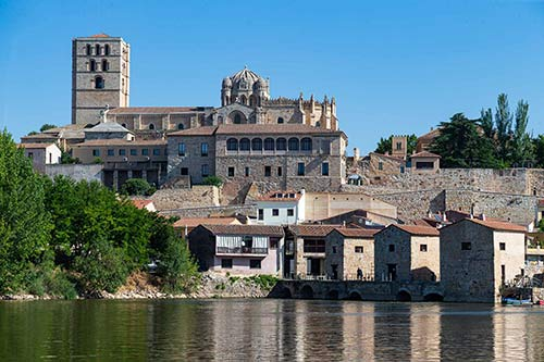 Tecnovino Ruta del Vino de Zamora vista de Zamora