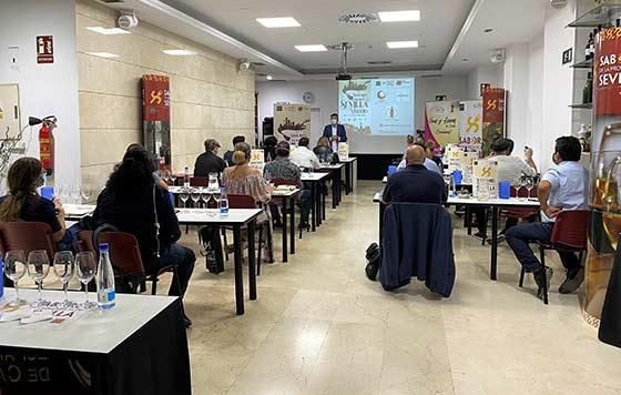 Tecnovino Sabores de la Provincia de Sevilla formación hostelería detalle