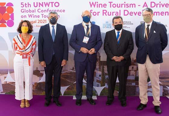 Tecnovino enoturismo conferencia UNTWO Portugal