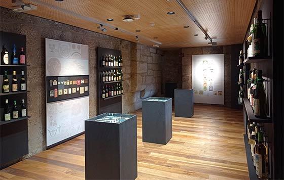 Tecnovino expo denominaciones de origen vitivinícolas gallegas Museo del Vino de Galicia detalle